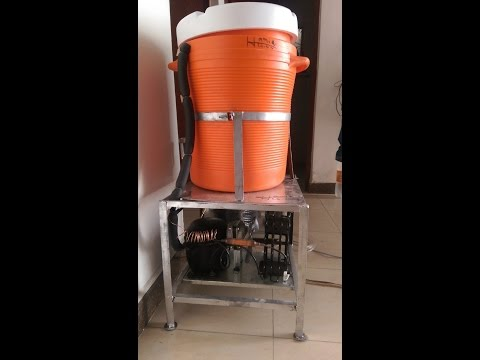 Homemade Electric Water Cooler Very Cheap and Simple