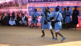 International Gatka Festival at Takht Sri Kesghar Sahib, Punjab