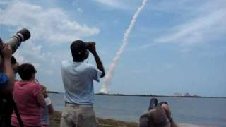 Atlantis STS-125 Launch from the NASA Causeway