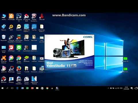 การติดตั้งโปรแกรม ulead videostudio 11