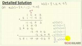 Convolution Example #1