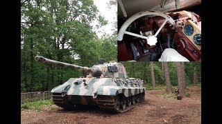 DRIVING THE KINGTIGER, FRONTLINE: INSIDE, DRONE, ALLROUND VIEW, OFFROAD, SOUND