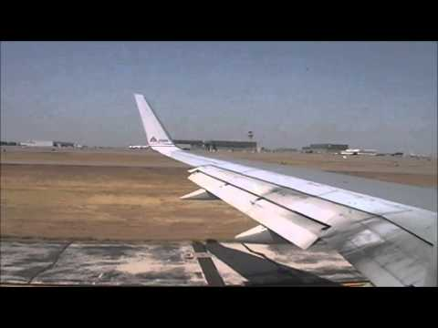 American Airlines Boeing 757 Takeoff from Dallas/Fort Worth to San Francisco (September 2011)