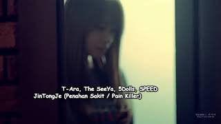 [SUB INDONESIA] T-ARA - Pain Killer (Lirik dan Terjemahan. Lagu Korea Sedih. Korea Sad Song)