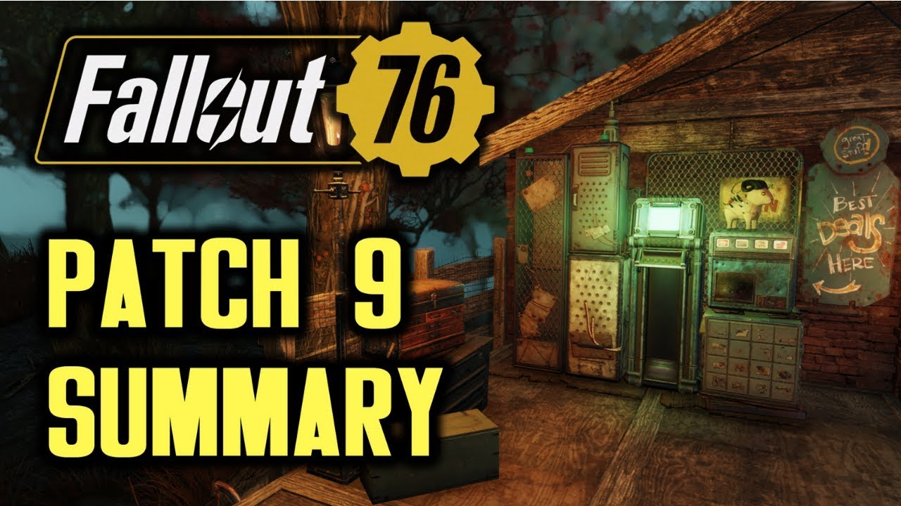 Fallout 76, patch available 9: all the details - Nerd4 life