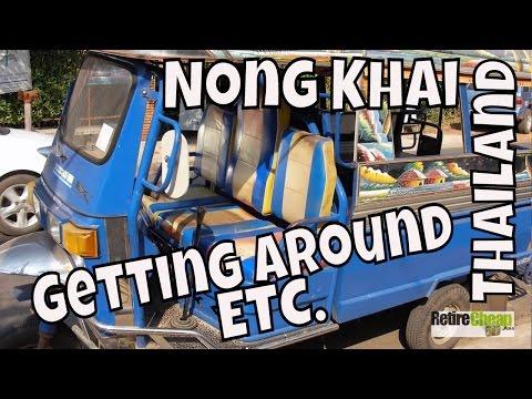 Part 1 Isaan, Nong Khai, Thailand - JC's Road Trip