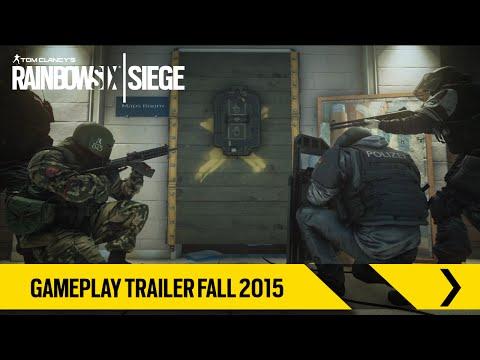 Tom Clancy's Rainbow Six Siege – Gameplay Trailer Fall 2015 [ES]