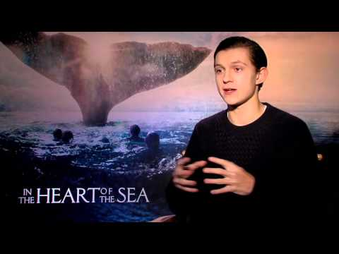 In The Heart Of The Sea Interview - Tom Holland