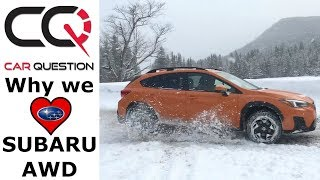 SUBARU AWD | Why we LOVE symmetrical AWD and COOL FACTS about it!