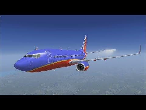 PMDG 737-700: West Palm Beach to Atlanta