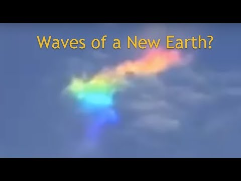 New Earth waves - Rainbow - White - Are Light Bodies next?