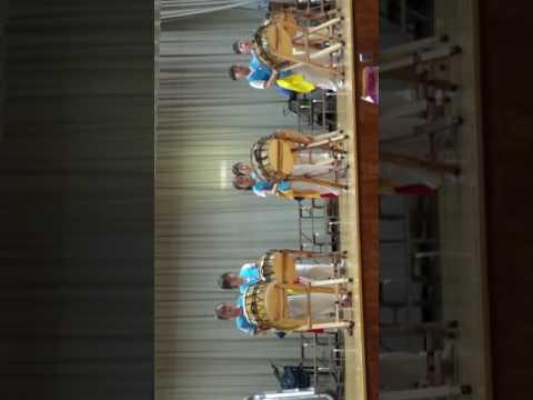 P.S.159 Korean Drums for a talent show!