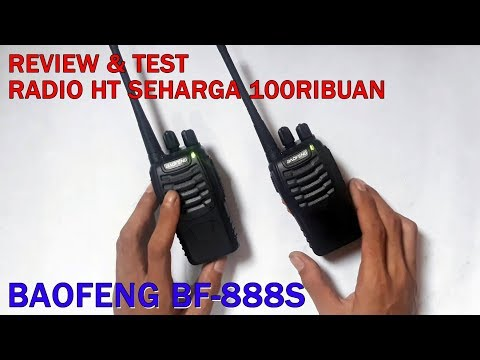 Review HT Baofeng  BF 888S Walkie Talkie