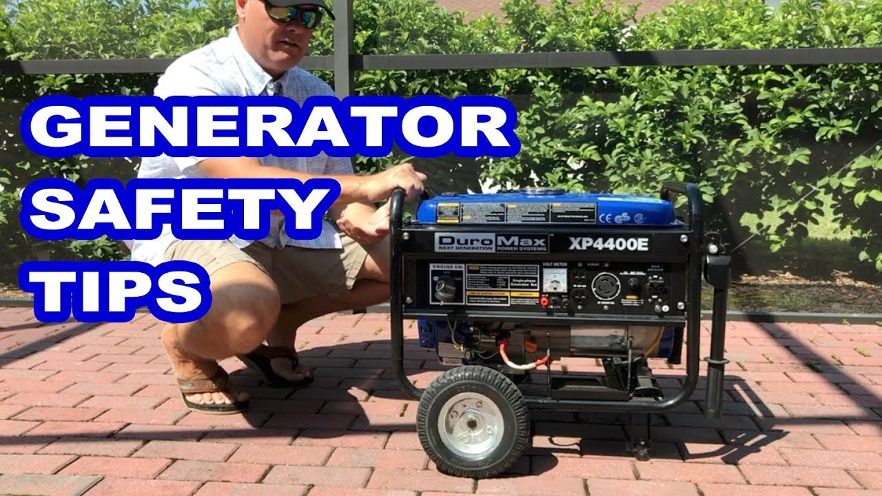 Using a Generator? Remember These 5 Simple Safety Tips