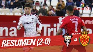 Resumen de Albacete BP vs RCD Mallorca (2-0)
