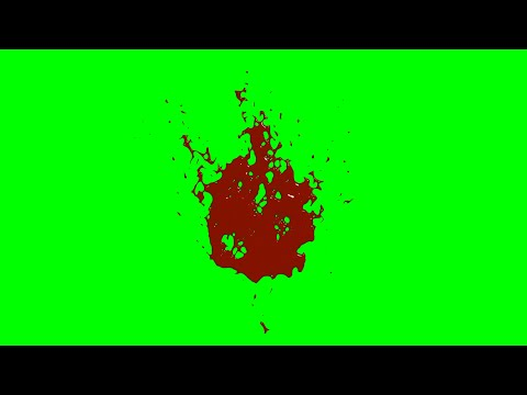 Blood Green Screen - Darah