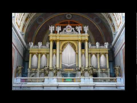 Mendelssohn - Wedding March on the Esztergom virtual pipe organ