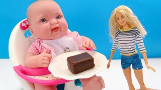 СЪЕШЬ СЫРОК, ПОЛУЧИШЬ ПОДАРОК Мультики для детей Как Мама Играем в Куклы 108мама тв