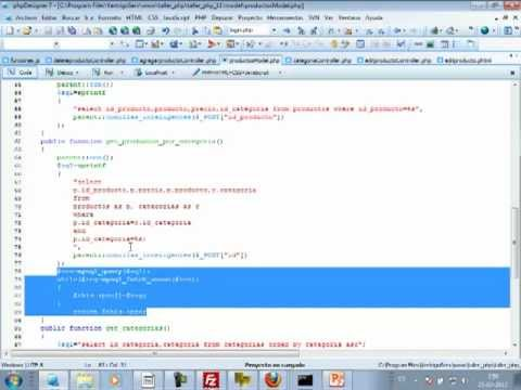VideoTutorial 11 del Taller Práctico de PHP y MySQL