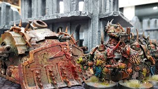 Death Guard v Imperial Guard, Warhammer 40k battle report