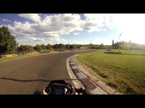 DRIFT HD -Practice| Picton Kart Track | helemt cam