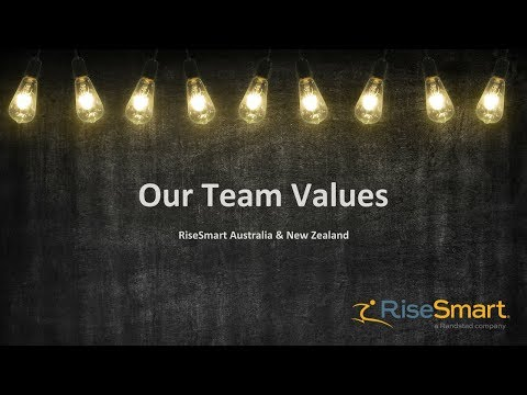Our Values - RiseSmart Aus NZ