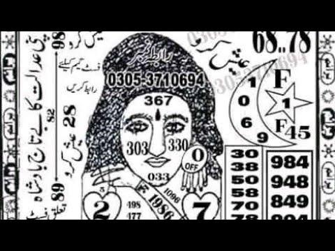 Prizebond Vip New Guess Paper Bond 1500 City R.Pindi Date 17.02.2020