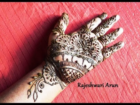 simple mehndi designs images for beginners