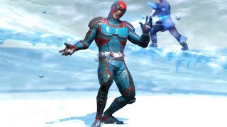 Injustice 2 All Super Moves on Atom DC One Million (No HUD) Skin/Shader Showcase 4K UHD 2160p
