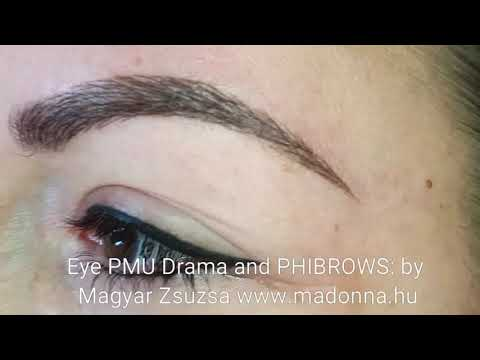 Eye PMU Drama and PHIBROWS by Magyar Zsuzsa