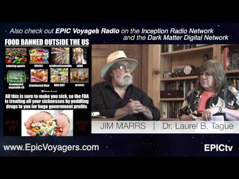 At Home With: JIM MARRS PART 2 - Population Control #ConspiracyTheory #GMOs