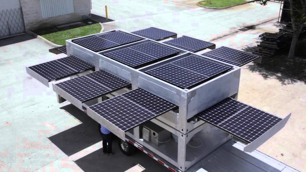... - The World's Largest Mobile Solar Powered Generator - YouTube
