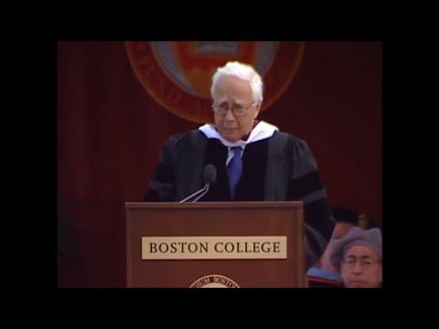 David McCullough - Boston College Commencement Speech 2008