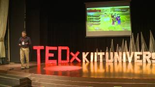 Cultivating empathy through video-games. | Parag Mankeekar | TEDxKIITUniversity