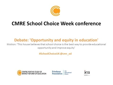 5 Debate: Opportunity and equity in education