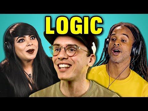 ADULTS REACT TO LOGIC (Black SpiderMan, Flexicution, Young Sinatra III)