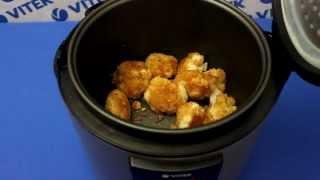Рецепт приготовления цветной капусты в панировке в мультиварке VITEK VT-4216 CM