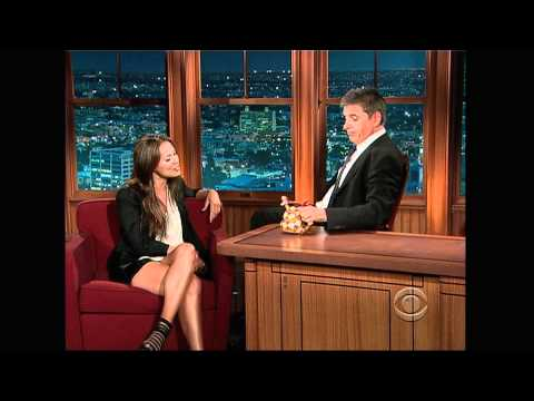 Craig Ferguson with Moon Bloodgood 2009