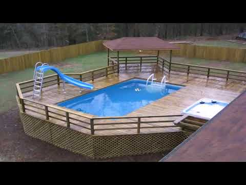 Diy Above Ground Pool Deck Cheap