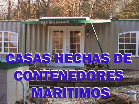 Casas hechas de contenedores maritimos youtube - Casa de contenedores ...