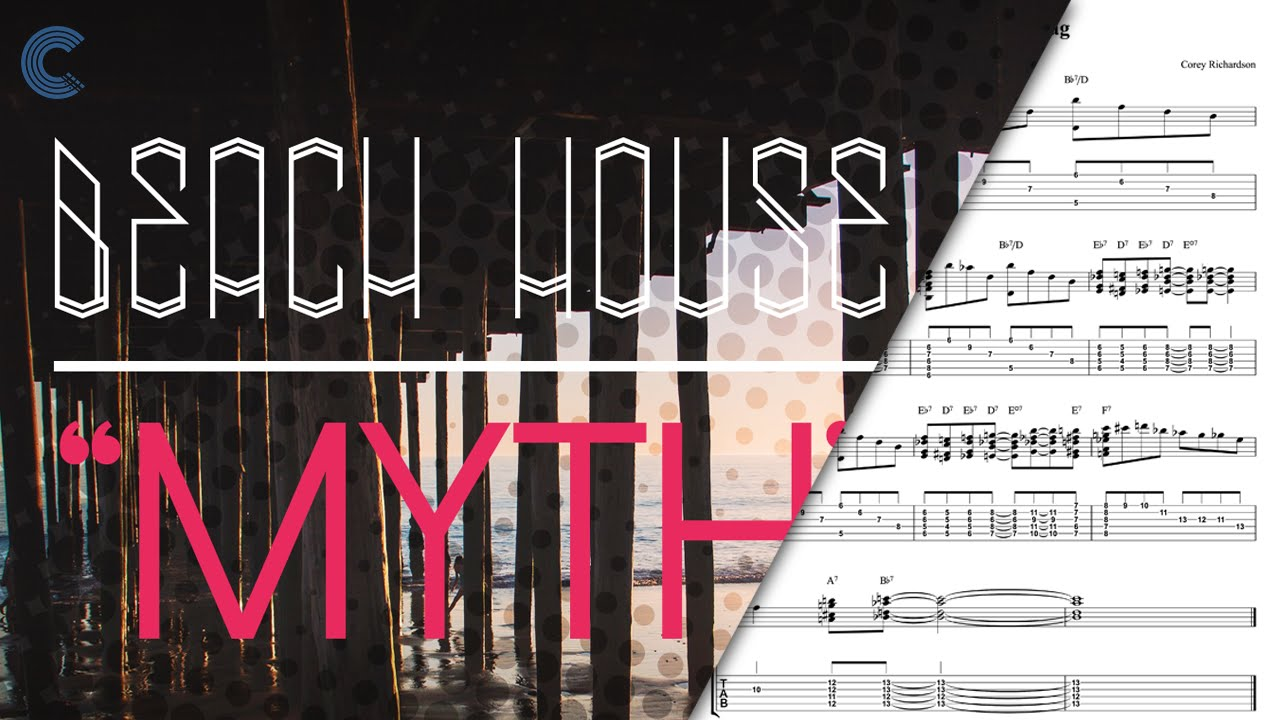 Piano myth beach house sheet music chords vocals for House house house house music song