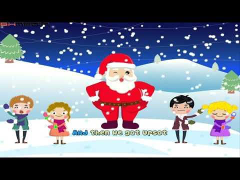 Jingle Bells - Christmas Carol Merry Christmas (Music 4K Video)
