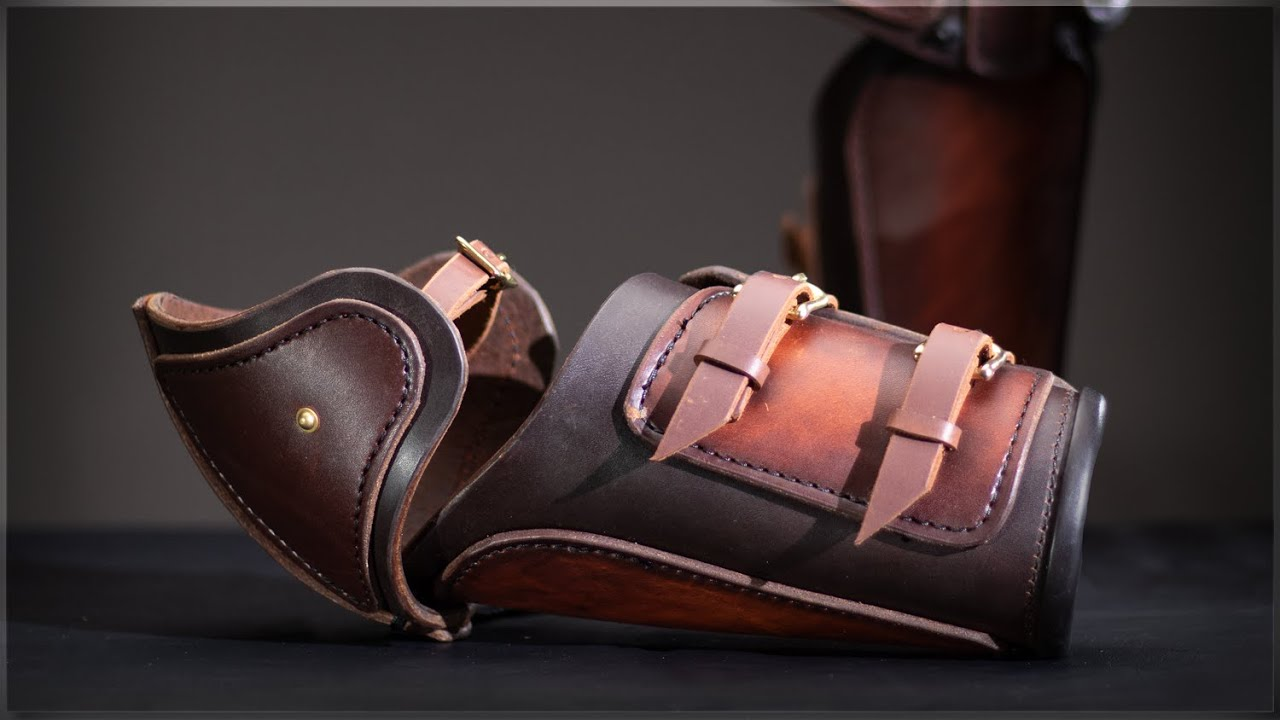How to Make Armour - Leather Vambraces