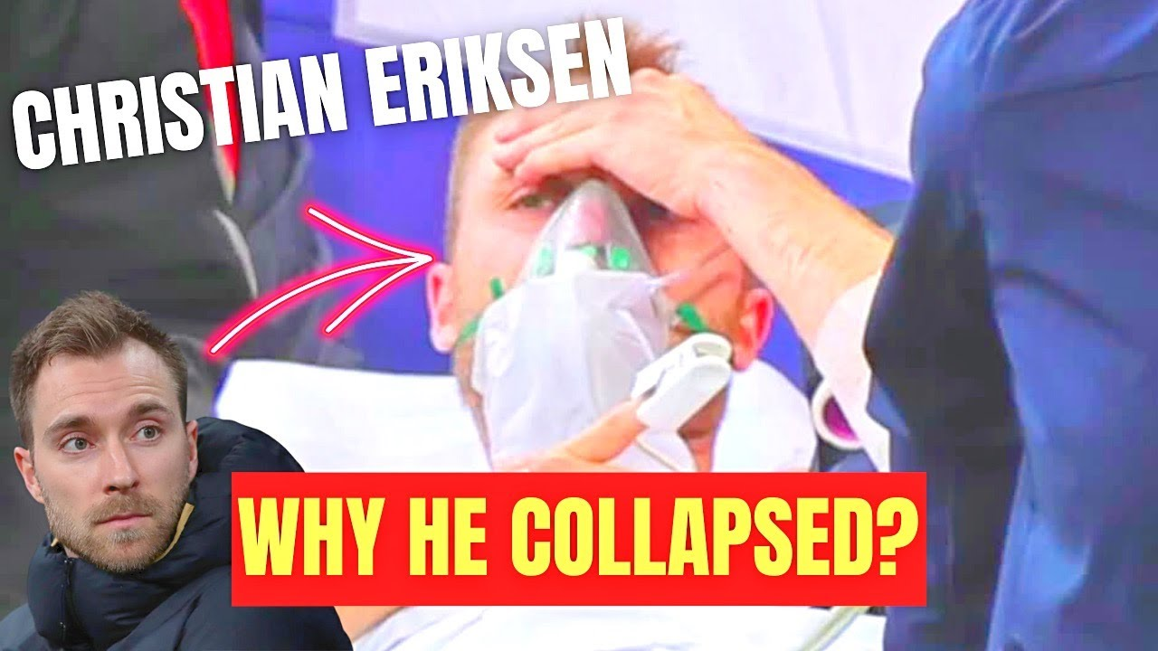 CHRISTIAN ERIKSEN COLLAPSE Euro 2021: Doctor Explains Why This Might Have Happened