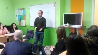 Фрагмент урока английского языка с носителем (часть 2)