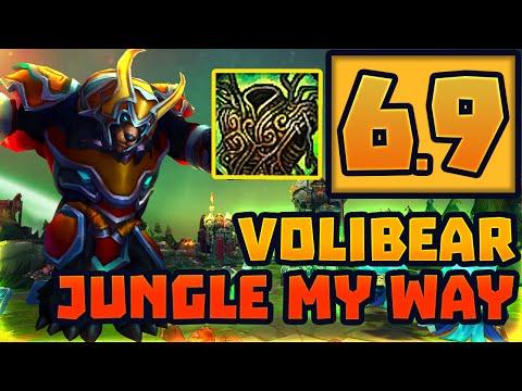 6.9 Volibear Jungle My Way #Warmogs
