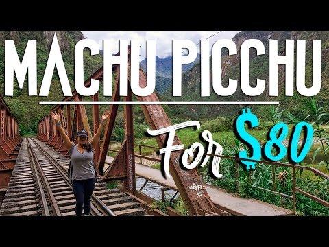VISIT MACHU PICCHU CHEAP - $80 // CUSCO, PERU