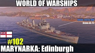 Edinburgh - World of Warships (Wows) Omówienie i gameplay.