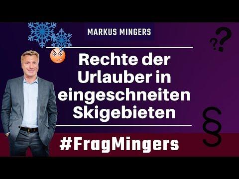 Rechte der Urlauber in eingeschneiten Skigebieten | #FragMingers