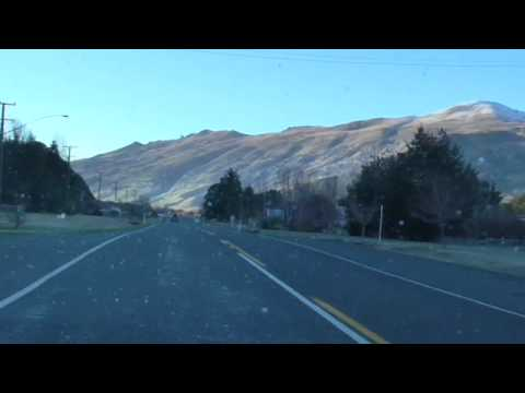 Drive Through Athol, Southland, NZ - 4 August 2014
